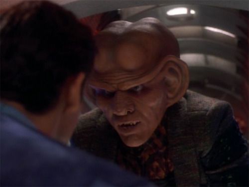 """Never make fun of a Ferengi's mother!"" - Rule of Acquisition #31"