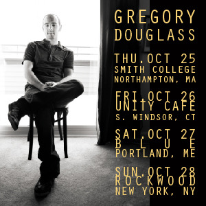 Smith College in Northampton, MA tomorrow night!  Friday in S. Windsor CT, Saturday in Portland, ME and Sunday in NYC… Hope to see you in the crowd if you're in the area!  http://www.gregorydouglass.com/shows