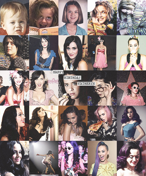 happy 28 birthday katy perry! (10.25.2012)
