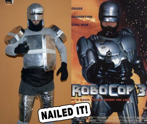 RoboCop For Halloween? Nailed It!!!