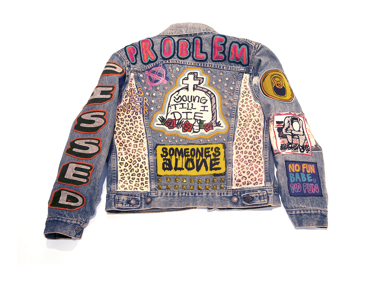 Jack Greer jacket. Check out DILLIGAF art show at ALLDAYEVERYDAY this weekend!