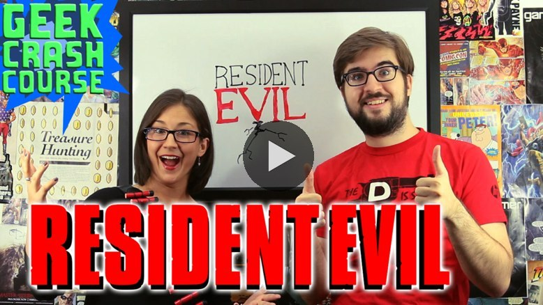 Michael and Diana battle the zombie menace of the Resident Evil series as they soldier on with Horror Month on Geek Crash Course. Learn about the games, the movies, and more on this week's DOUBLE-SIZED episode! WATCH NOW ON BLIP: Resident Evil (Horror Month #4)