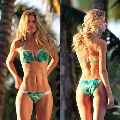 beccaliving:  thincapades:  god dayyyuuumm  Doutzen has always been my favorite <3   Go Doutzen!