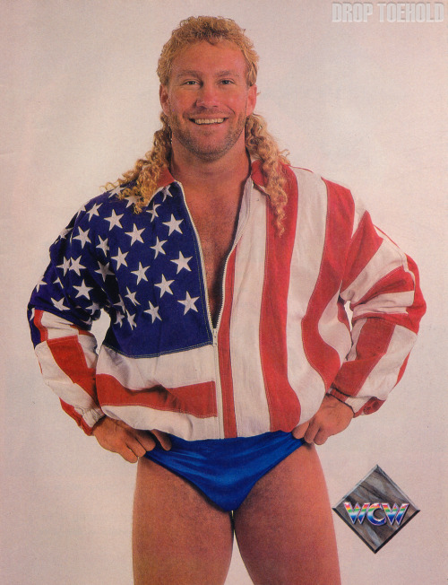 "Brad Armstrong - WCW Magazine Collector Series Special #3 [December 1992]  ""'In every match I wrestle, Armstrong family pride is on the line.' Fans worldwide have responded to Brad Armstrong's positive attitude in the ring, his energetic enthusiasm, and his strong determination to never break the rules. A second-generation star,Brad possesses a formidable scientific style that was forged at the feet of his legendary father, 'Bullet' Bob Armstrong. In fact, early in his career, Brad teamed with his father to capture several regional tag team titles in their home state of Georgia. The 6-foot, 226-pound Marietta, Georgia native is a former World light heavyweight champion. Unfortunately, he was forced to vacate the title at Clash of the Champions XX last September when a knee injury rendered him unable to defend the championship against 'Flyin"" Brian Pillman. Brad has, however, recovered completely from the injury, and is anxious to attain championship gold again in 1993.""  Rest in peace, Brad."