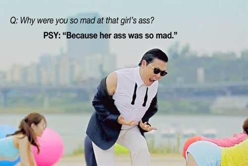 thedailywhat:  The Best Of PSY's Reddit AMA of the Day: Here's the thread in full. [dailydot]  AIMEE.