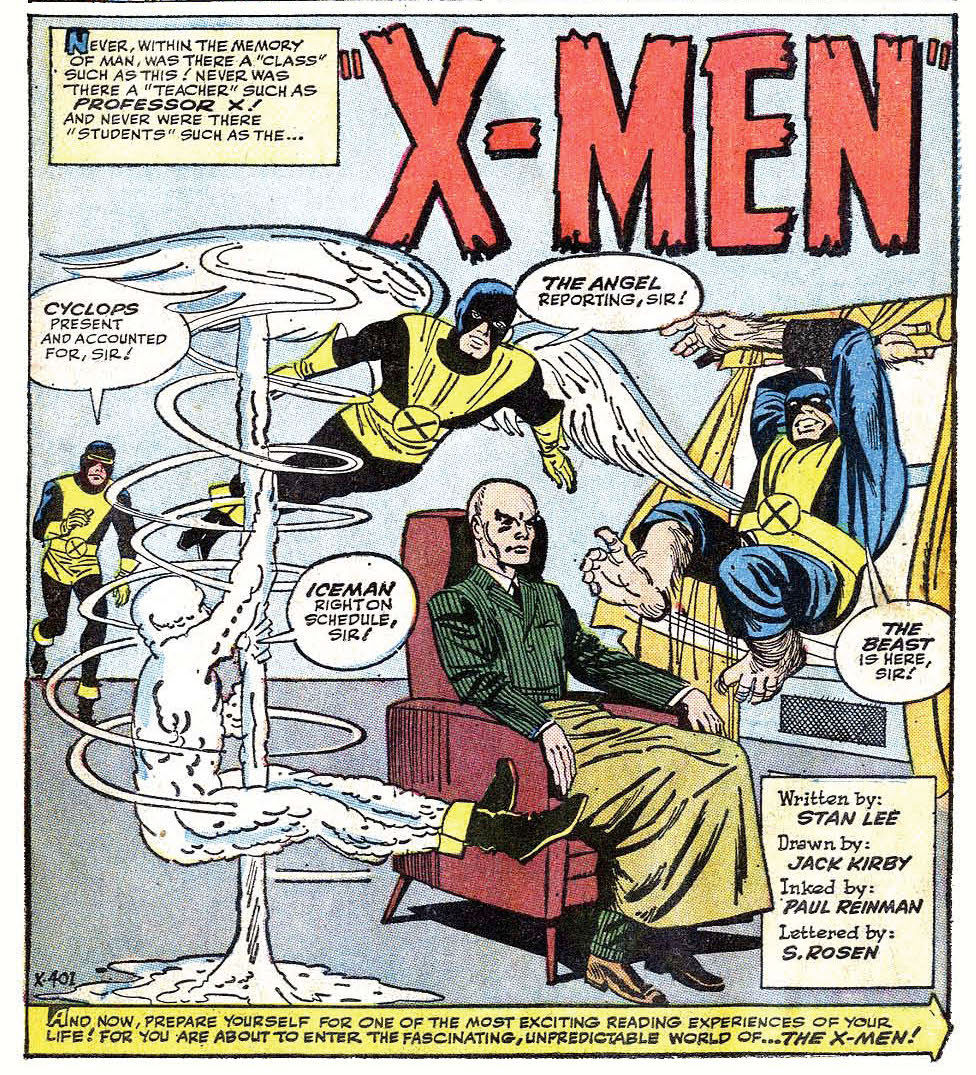 Professor X was always a weird useless prick. From the beginning he would sit around like a statue or some invalid using his telepathy instead of his mouth. And why the hell would some old man want a boy to spin around on a pole for him or jump through the window. Poor Scott should have killed him long ago instead of spending his whole life sucking up to that sick prick!