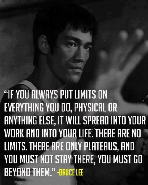 theevogroup:  Bruce Lee knows quotes.