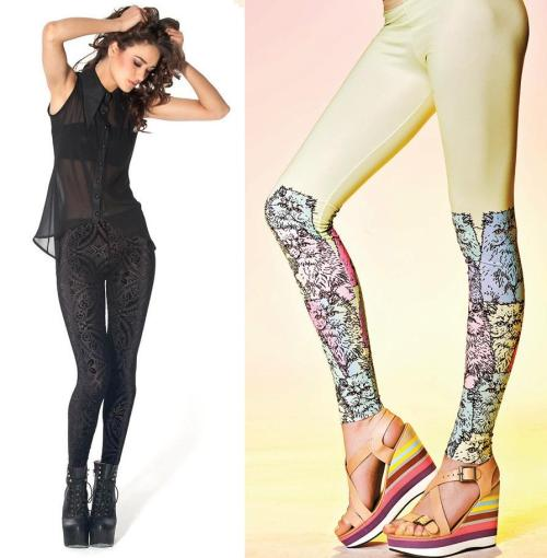 THE STYLE GURU: A LEGGING RUN DOWN The most trendy themes are leggings made of leather, leggings with interesting prints and leggings that carry eye-catching detailing. http://thecarbonmagazine.com/2012/10/the-style-guru-a-legging-run-down/
