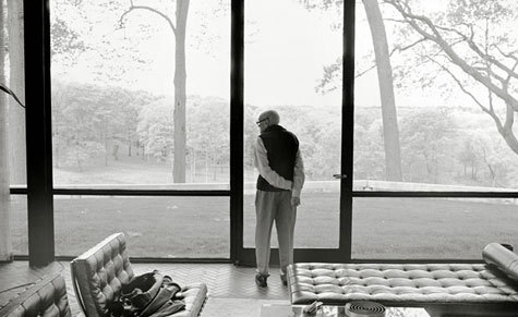 Philip Johnson, Glass House, Connecticut, 1949