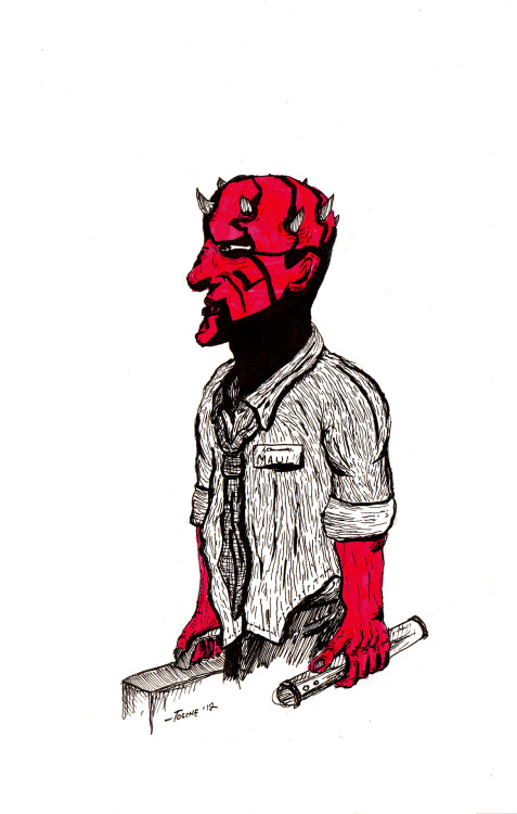 Maul, apprentice of Office Works.~Tosche