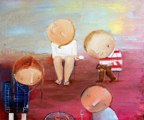 Family Picnic by Monica Blatton on Flickr.