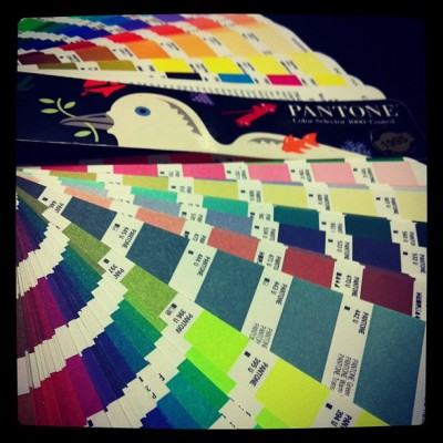 #PANTONE #color swatches!