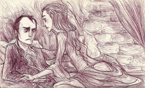 stanblog:  Some Stannis/Sansa for an anonymous requester! Nothing makes a fellow Stan feel all good inside like an anonymous request. Good going, whoever you are :D Personally, I don't think I've reached the point either in my reading or in my understanding of the series at which I can make sense of this pairing. I still have a lot to learn. I'm not sure in what capacity and location they would meet, and what they'd want to do when they did. I haven't read much. So I didn't quite know what to do with the characters together, but I do know one thing: they have the best couple name, ever. Stansa. It was meant to be. Well, second only to Stanly, if you ask me. I love silly couple names. Now, I'll just have to find a way to get Standor to happen, and then I'll be set…  Hey stanblog this might help you to understand the pairing. To enjoy it/understand you have to have a certain headcannon so not everyone is in line with it. But in any case, this is beautiful. And perfect. You're so very talented. And I love it. Thanks a lot and thanks whoever asked this.