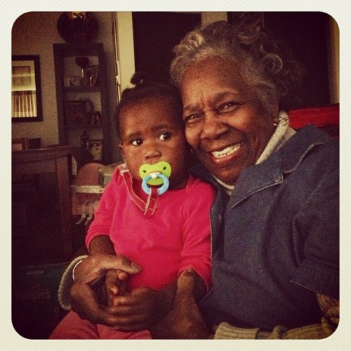 #photoadayoct #day25 #people #two of my #favorites #bunnyboo & #grandma #beautiful #family #love #repost