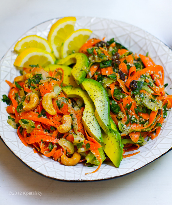 beautifulpicturesofhealthyfood:  Shredded Carrot Salad…RECIPE