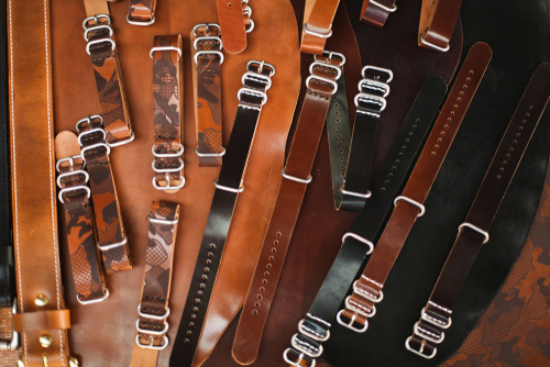 Hellbrand Leatherworks. via American Field – Pop-up Boston Photo Re-cap