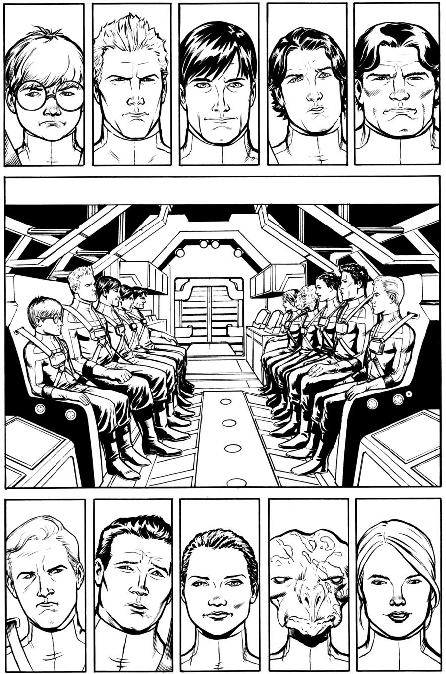 Voltron Year One 4, Pg 7 by *craigcermak