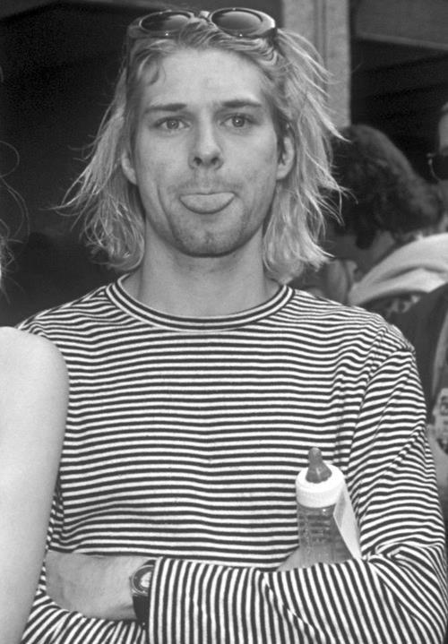 kurt cobain. idol? maybe. inspiration? yes.