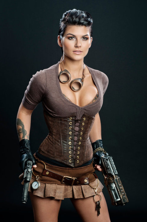 steelboneddiva:  Meschantes Steampunk Vegan Leather Waist Cincher Corset …I think i just fall in love