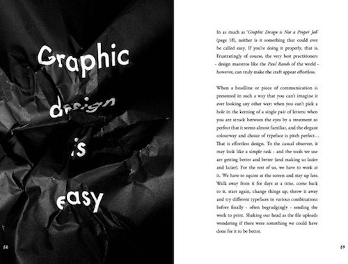 Popular Lies About Graphic Design by: Craig Ward