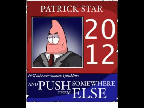 fuckyeahsexanddrugs:  Everytime I see something about Patrick Star, I think of you guys. I dunno, I thought this was funny as fuck~
