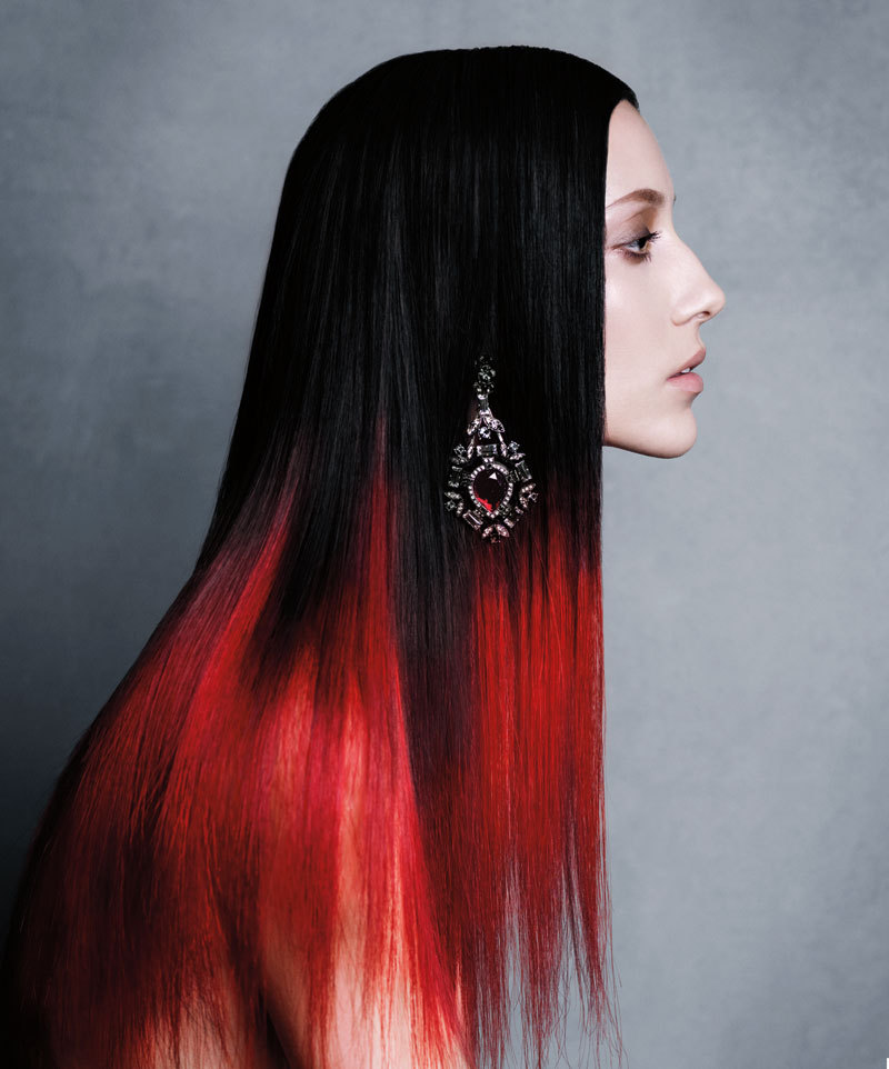 The Mane Event: Alana Zimmer by Victor Demarchelier for Harper's Bazaar, August 2012