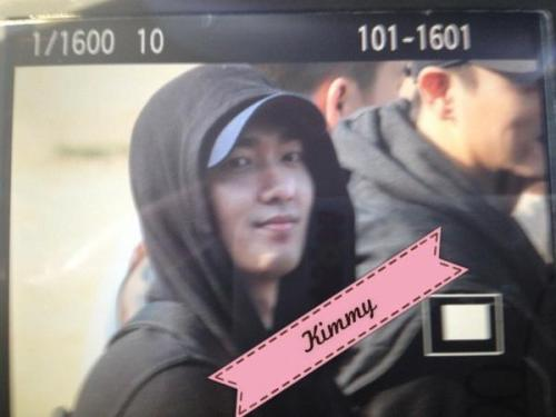 allthingstrax:  20121025 Jungmo leaves for basic military training at Nonsan City cr: Kimmy Please do not remove the logo