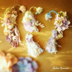 #Earcuff #耳掛 #lolitasummer #jewelry #accessory #design #fashion #pastel #cute #kawaii