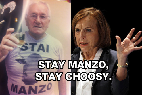 Stay Manzo, Stay Choosy  Copy: Me Art Credits: Thomas Valcek