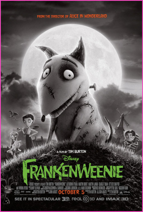 2012 Movie #135 - Frankenweenie (2012) I was pleasantly surprised by how much I enjoyed Frankenweenie. I haven't been a big fan of Tim Burton's recent work, but Frankenweenie felt like a return to the strange heart I loved in his earlier films. In particular, I was delighted by a lot of the scene writing by John August. I wasn't enamored with some of the choices made in the mid-section of the film, but the beginning and end are so strong that those problems are easy to forgive.