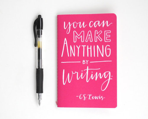 amandaonwriting:  Writing Quotes on Notebooks from SparrowNestScript