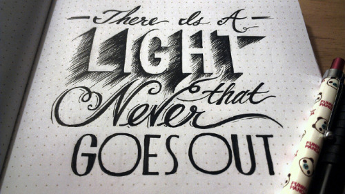 http://www.jaclynle.me/Lettering-Lyrics-Project