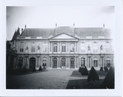 National Archives, Paris {Polaroid 250 Land Camera and Fuji FP-3000B instant film}