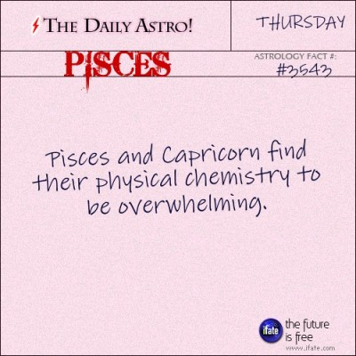 Pisces 3543: Check out The Daily Astro for facts about Pisces.and get a free online I Ching reading here