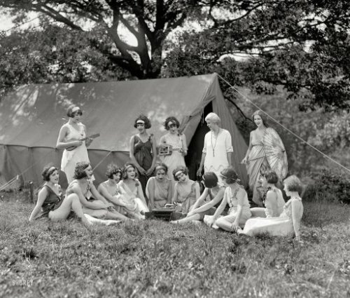 August 20, 1924; National American Ballet, campgrounds in Washington, DC, USA vicinity