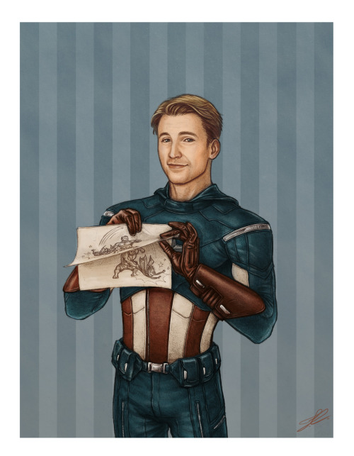 sercastiel:  nimloth87:  Special Edition Captain America Trading Card. Especially made for Luckyraeve's birthday :'D Hope you have a marvellous day, Raeve! *hugs* <3<3You'll find a longer comment and a poor attempt at an explanation on my Deviantart :'D   Holy WOW. this is the most gorgeous thing of ever.