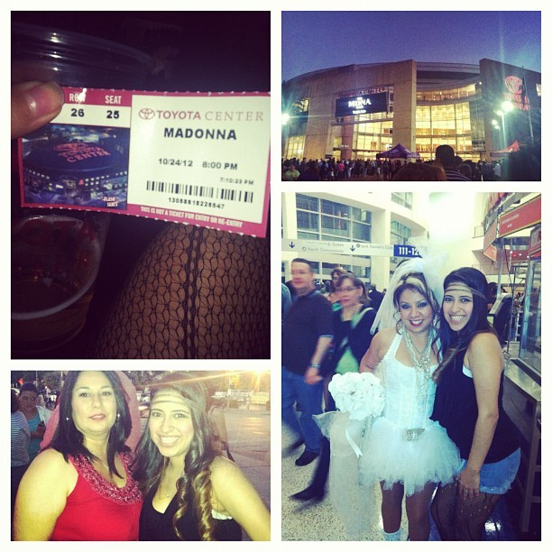 Pretty much sums up my night #mdna #madonnaconcert #toyotacenter #houston #texas #ighouston #instagood #instahub #iphoneonly #iphone #boom #tired #picofday #yesterday #ticket