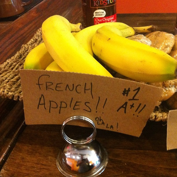 French Apples!! #1 A+ Oh La La!!  (at Star Lounge Coffee Bar)