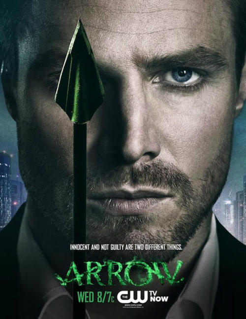 New Arrow poster thanks to http://www.greenarrowtv.com