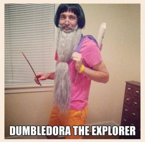 Dumbledora the Explorer Si, expecto patronum!