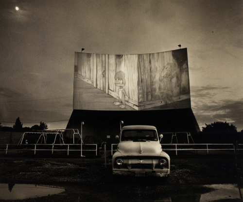 Drive-In movie theater, Woody Woodpecker Steve Fitch