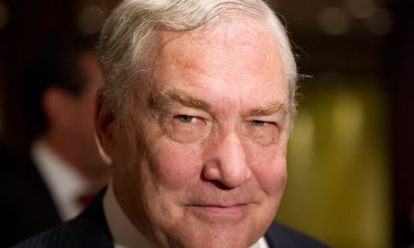 "Why Conrad Black is blustering Convicted fraudsters who want to stay in business obey a single rule for their future prosperity – they always protest their innocence and seek pity as the victims of vengeful prosecutors, governments or ""dark forces"". The fraudster knows that the slightest admission of guilt would permanently destroy his ambition to restore his social reputation and get back into making money. His mission of reassertion is always accompanied by cursing and trivialising an unfortunate interruption in his blessed way of life – like a damning government report, bankruptcy, or a period in jail. (via The Guardian)"