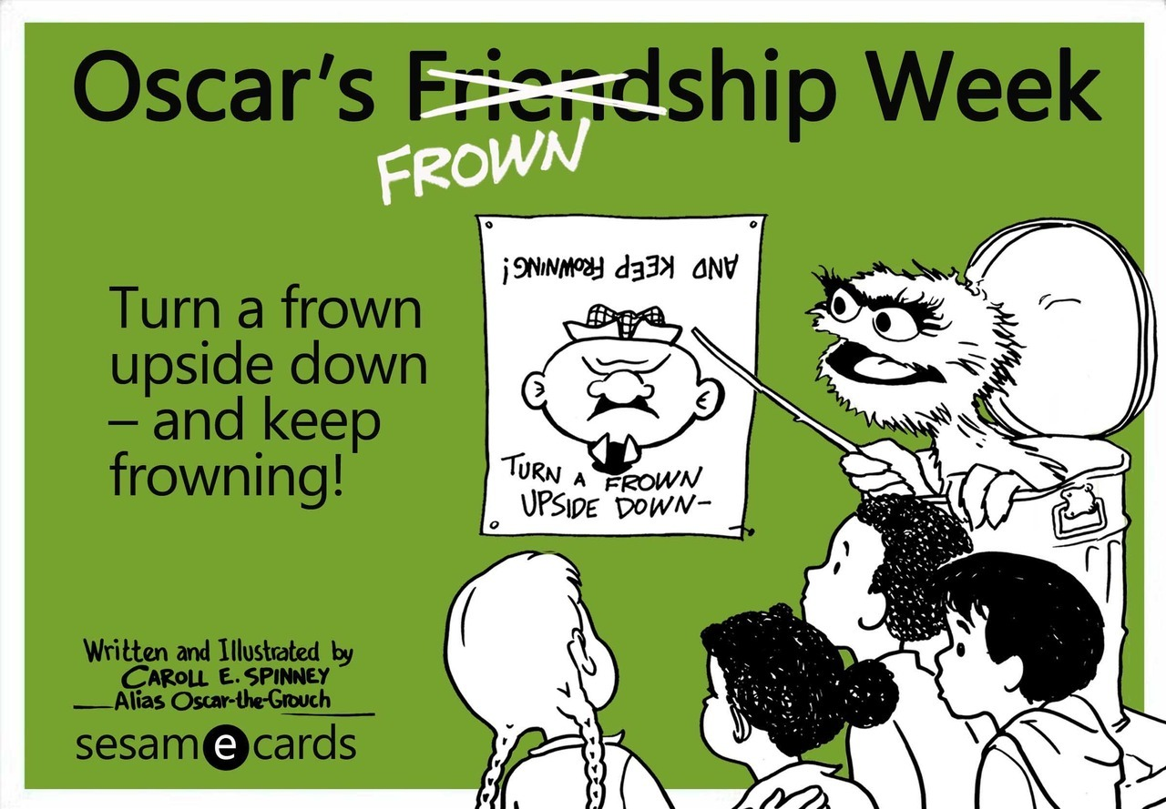 sesamestreet:  Everyone loves Friendship Week! Okay… maybe not everyone.
