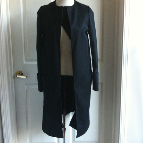 coat with detachable bib layer (it 40) • helmut langUS $99