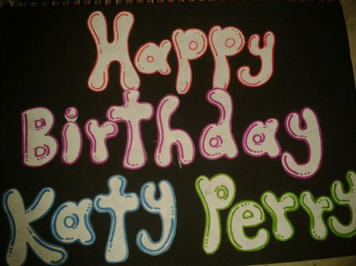 #HappyBirthdayKatyPerry