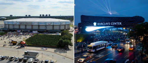 NYT: Brooklyn Lures a Second Team to Barclays Center So long, Mausoleum.