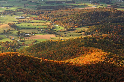Shenandoah: Valley and slopes by GaliWalker on Flickr.