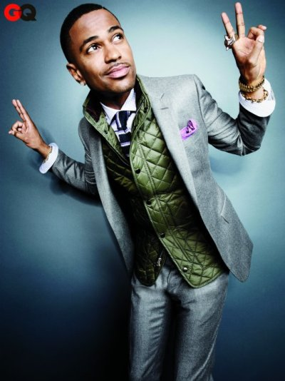 tandffashion:  Big Sean showing off how to wear a suit in winter on GQ shoot
