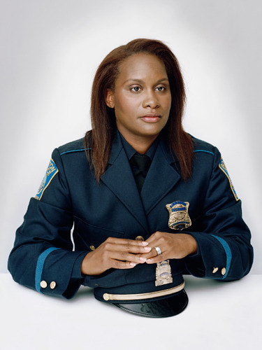 Lanita Cullinane, 38, detective, Boston Police Department. Named the top cop by Marie Claire magazine (October 2012).