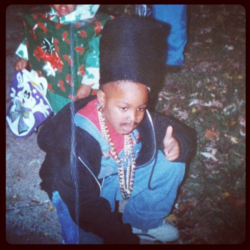 "#tbt I dressed up as ""Kid (from Kid 'N Play)"" for halloween. #throwback #halloween"
